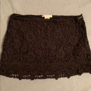 Billabong crochet skirt
